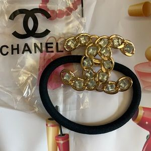 Chanel VIP hair tie